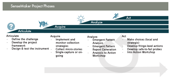 SenseMaker Project Phases